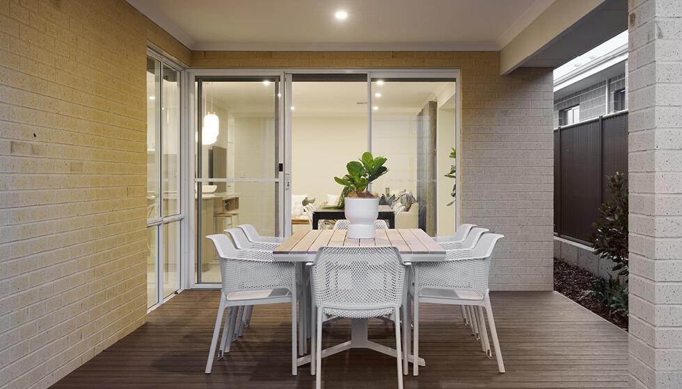 Building on a narrow block needs a smart design