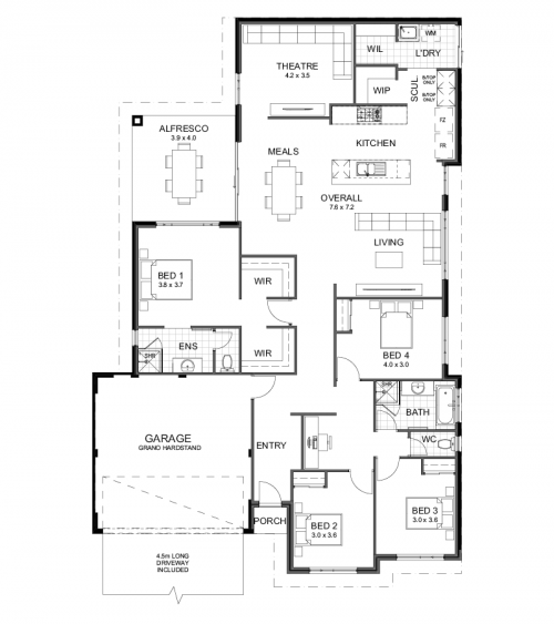 Floorplan for The Rivervale
