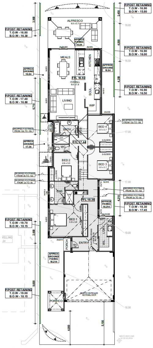 Floorplan for Lot 57 Weaponess Road, Scarborough