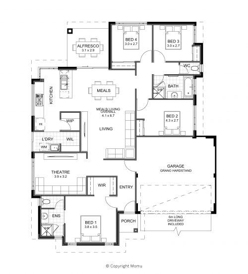Floorplan for The Aspley