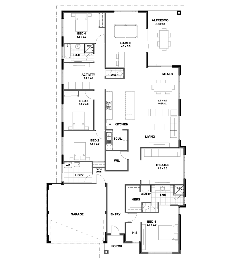 The Abundance House Plan